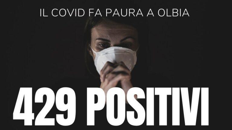 """Coronavirus.  Record di positivi a Olbia: 429 nel solo comune. """"E il culmine non è ancora stato raggiunto"""""""