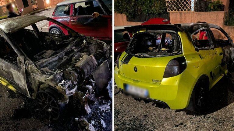 """Auto prende fuoco nella notte. """"L'hanno incendiata. Non ho nemici"""""""