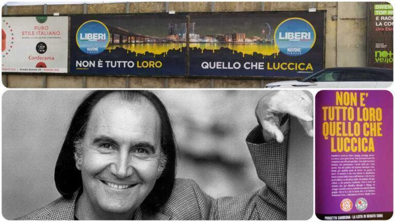 """Elezioni Olbia. Gavino Sanna realizza la pubblicità per una lista civica? """"No, è un plagio"""""""