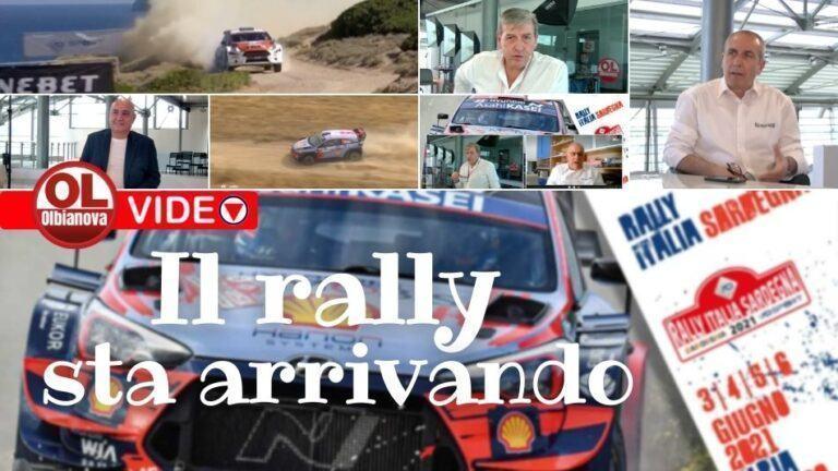 Il rally ritorna a Olbia. Puntata speciale di Olbianova con le più belle immagini del prossimo mondiale di giugno