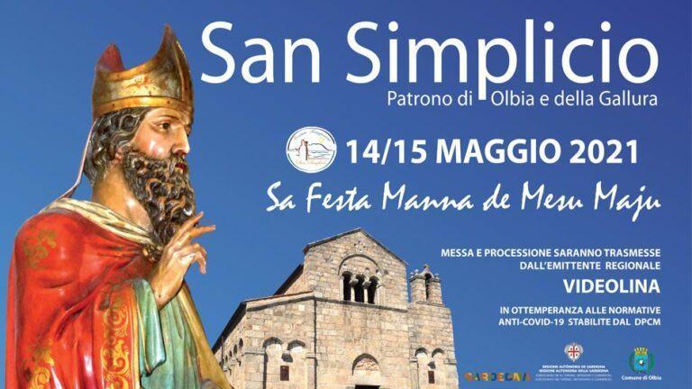 La festa di San Simplicio. Il programma ridotto ai soli appuntamenti religiosi